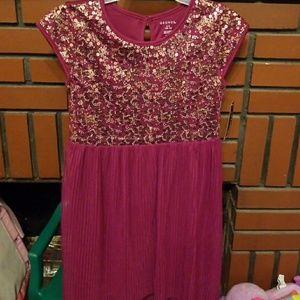 Sequen plated Hill Dress